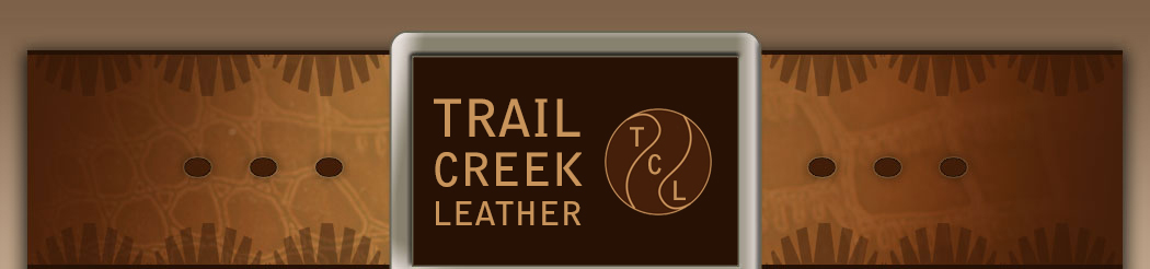 site map for trail creek leather